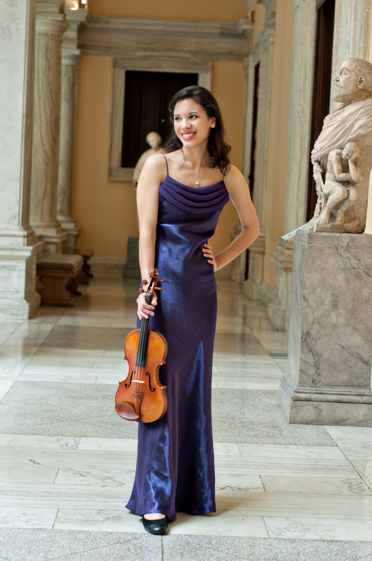 Formal Recital Style - Claire Allen, violin